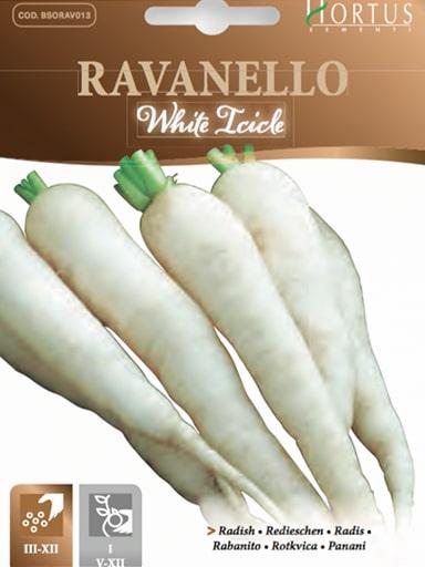 Ravanello white icicle